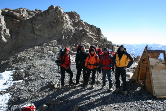 Povratk ekspedicije ANDE 2010