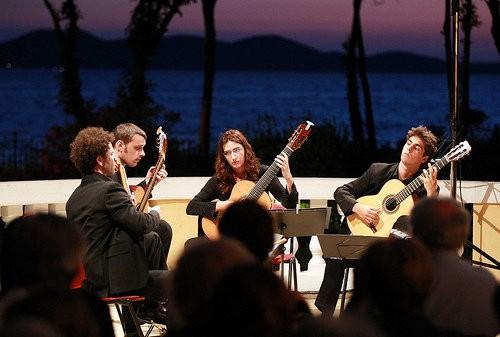 Zagrebački gitaristički kvartet u Americi