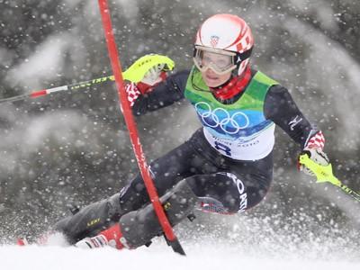 Jelušić 12. u slalomu