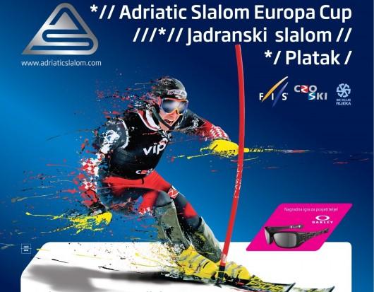 Adriatic Slalom (Jadranski slalom), muška skijaška utrka Europskog FIS kupa 07.03.2010 Platak