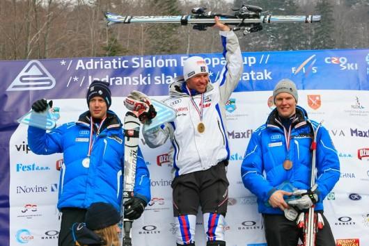Završen FIS Europa Cup Adriatic Slalom: Anthony Obert prvi, Šamšal 31.