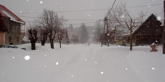 Snijeg voli Hrvatsku, gotovo cijela Hrvatska pod snijegom
