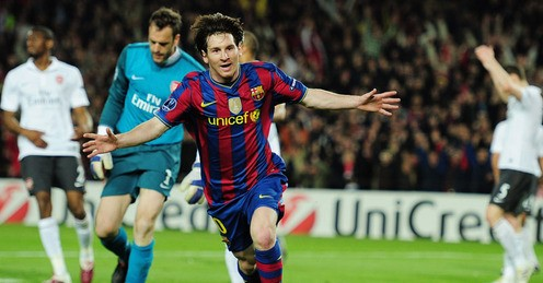MESSI – Arsenal  4:1