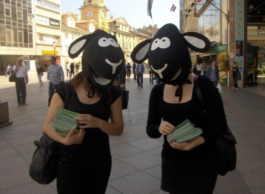 Ovce prošetale riječkim Korzom