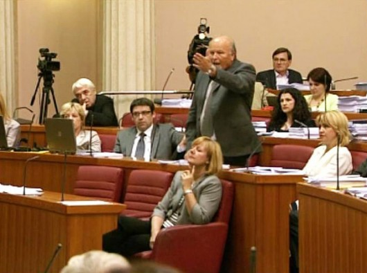 Hrvatskim političarima dopušteno vrijeđanje sustava