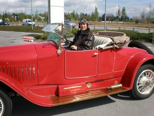 U Mali Lošinj stigli automobili stariji od 60 godina