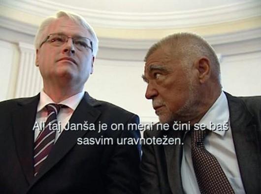Iza kulisa: Mesić i Josipović ogovarali Janšu, pridružila im se i premijerka Kosor