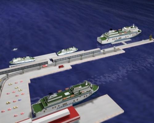 Splitska trajektna luka treća po prometu na Mediteranu