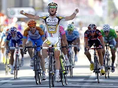 Biciklizam : Cavendish slavio u 18. etapi