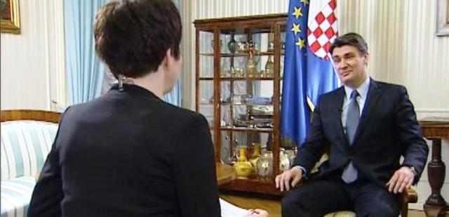 Milanović drzak na HRTu