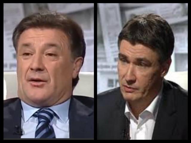 Zoran Milanović i Zdravko Mamić – sve manja razlika