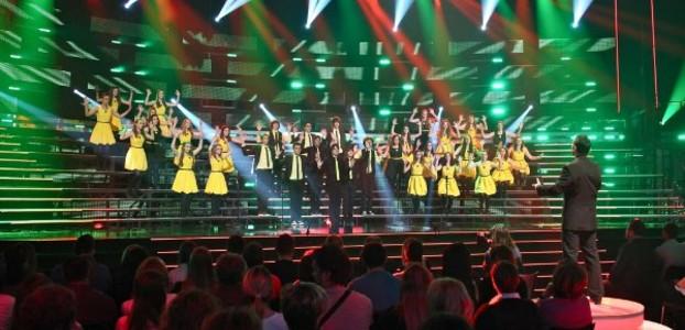 Završnica showa Do posljednjeg zbora