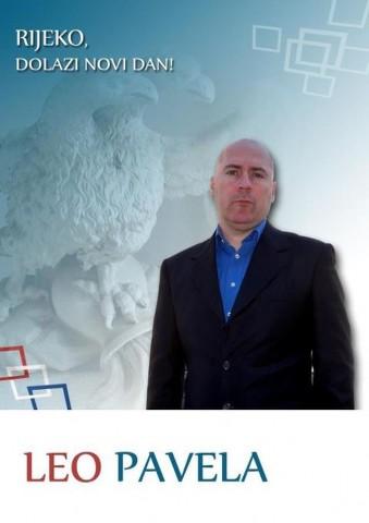 Leo Pavela – kandidat za gradonačelnika Rijeke, počeo prikupljati potpise