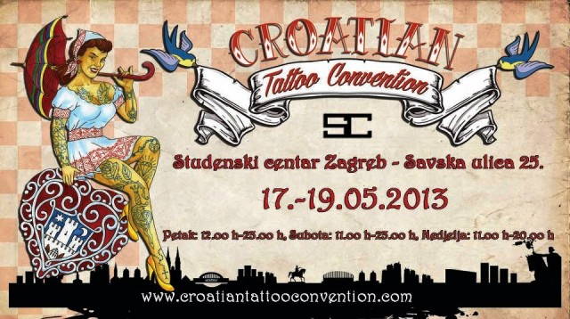 HRVATSKA TATTOO KONVENCIJA u Zagrebu