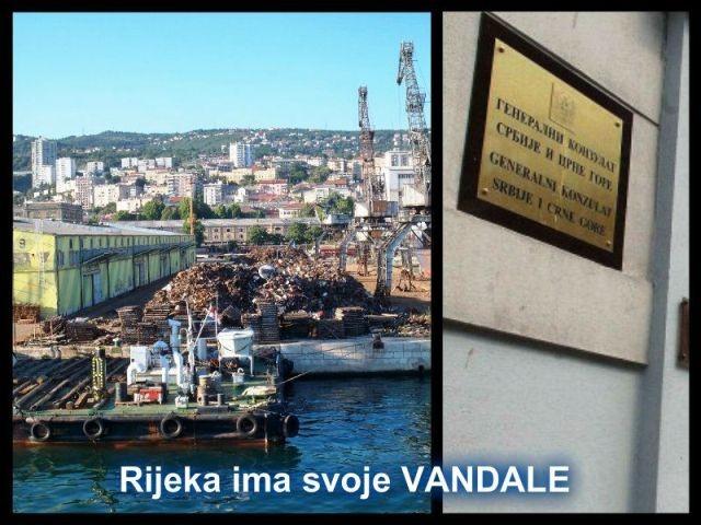 Šokantno : Obersnelu važnija ploča srbijanskog konzulata nego riječko priobalje
