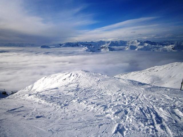 Snijega ima samo iznad 1800 metara