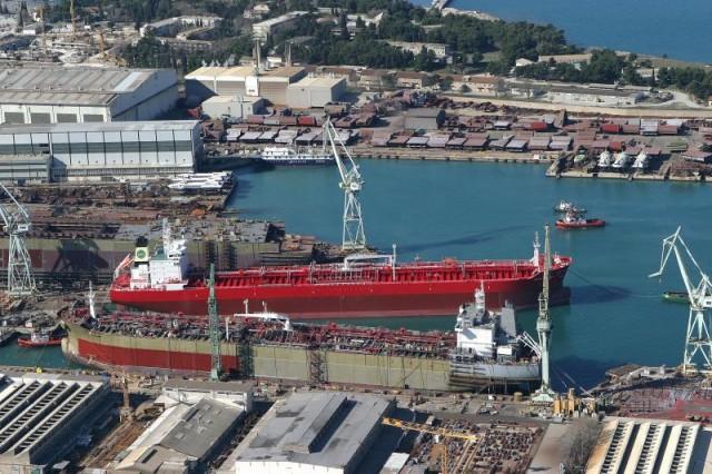 U Brodosplitu porinut brod za krstarenje polarnim područjima