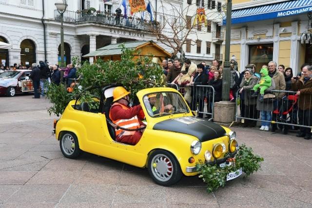 Rally maškaranih oktanaca uvod u karnevalsko ludilo na Kvarneru