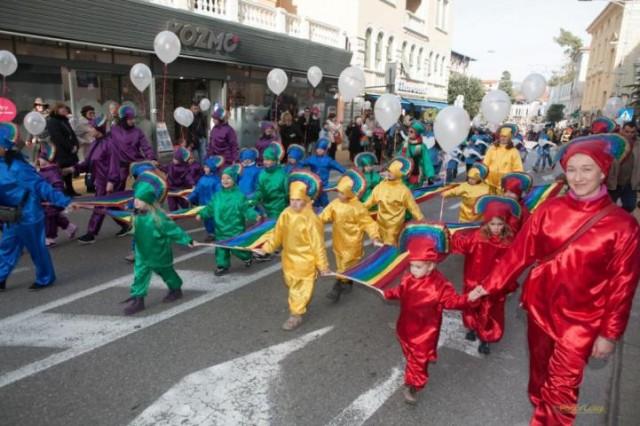 Nedjelja: dječji karnevalski korzo u Opatiji