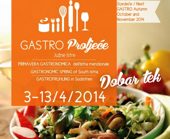 Manifestacija Gastro proljeće Južne Istre 2014.