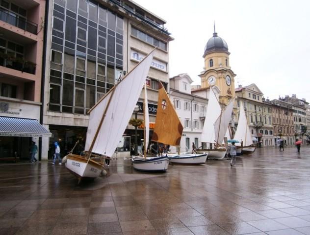 Prezentacija tradicijskih barki u Rijeci