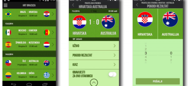 S aplikacijom HRT Brazuca budite sudionik svjetskog prvenstva