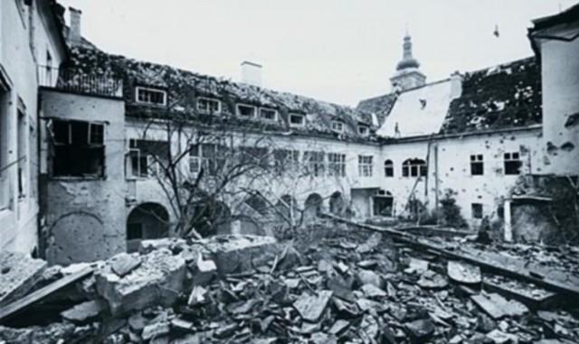 Zašto su Srbi bombardirali Banske dvore?