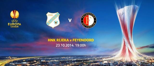 Nogometaši Rijeke i Feyenoorda večeras na Kantridi