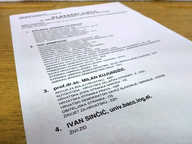 Šesti put od neovisnosti Hrvatska bira predsjednika