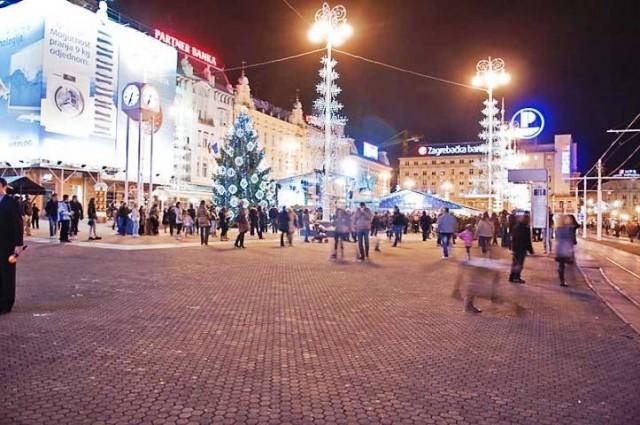 Puno stranih turista u Zagrebu u blagdansko vrijeme