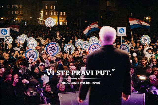 Hrvati kaznili Josipovića!