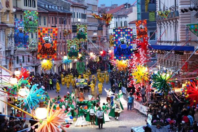 Izbor Kraljice Riječkog karnevala i primopredaja ključa Grada