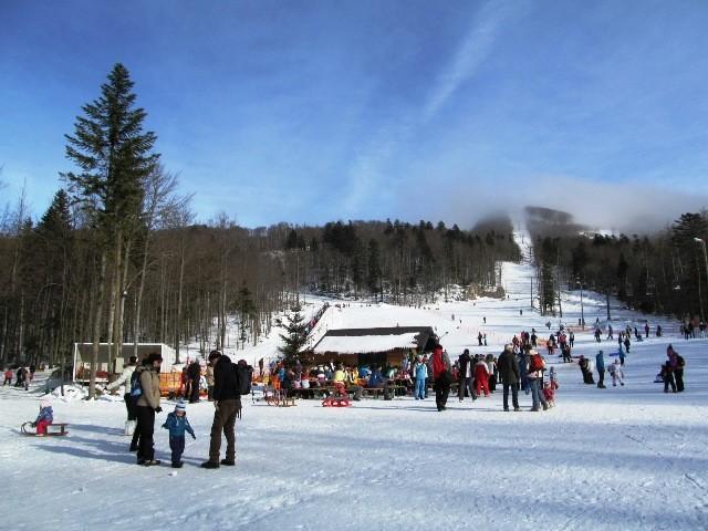 Sezona skijanja na platku je počela
