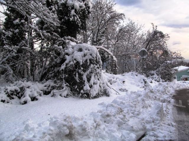U Hrvatskoj stiglo nevrijeme i snijeg
