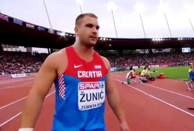 Stipe Žunić izborio finale u bacanju kugle