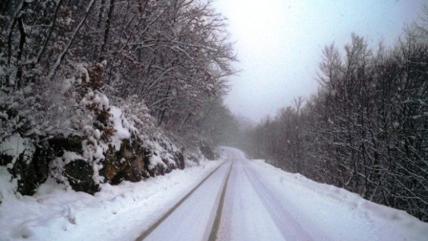 Snijeg, ceste - FreePix