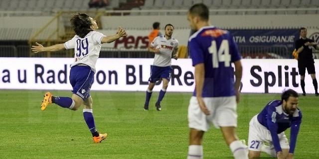 Hajduk se pobjedom učvrstio na trećem mjestu