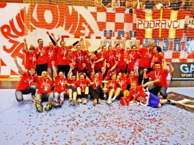 Rukomatašice  Podravke pobijedile u finalu Hrvatskoga kupa