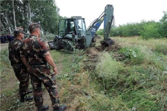 Počela gradnja EU zida prema Srbiji