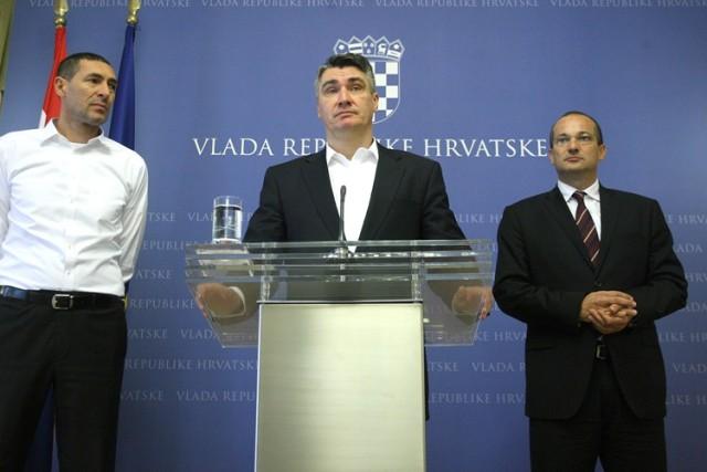 Premijer Milanović ohrabruje Hrvatsku