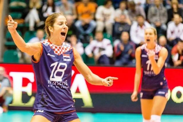 Hrvatske odbojkašice plasirale se u finale završnog turnira