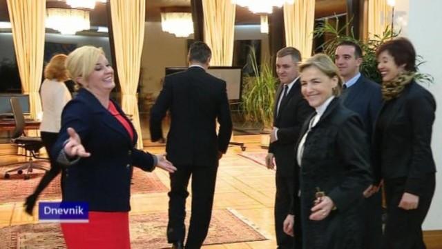 Nepristojan potez Milanovića: Odbio se fotografirati s predsjednicom