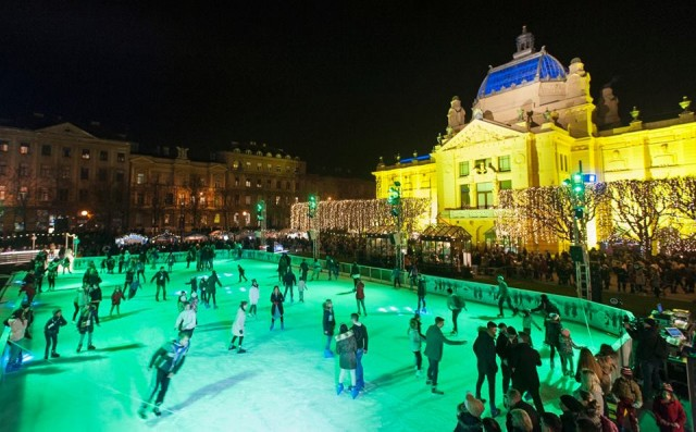 Leden park u Zagrebu ponovno oduševljava