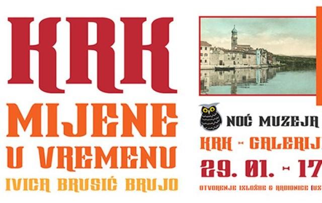 Noć muzeja: Krk – mijene u vremenu, izložba Ivice Brusića Bruje
