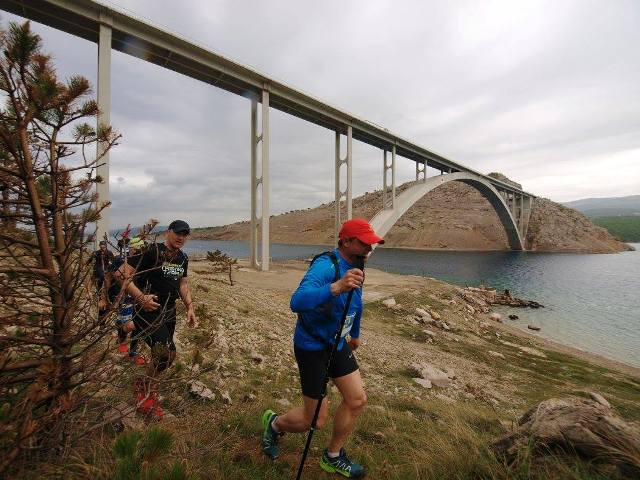 Na Krku održan prvi Adria Spring Trail!