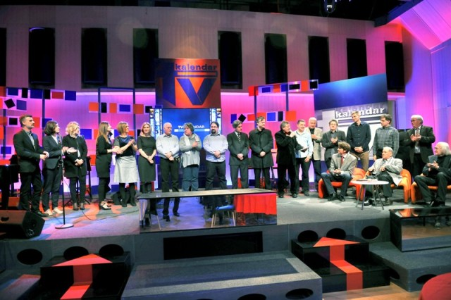 Ekipa HRT-ova TV kalendara svečano obilježila  40. godišnjicu prikazivanja