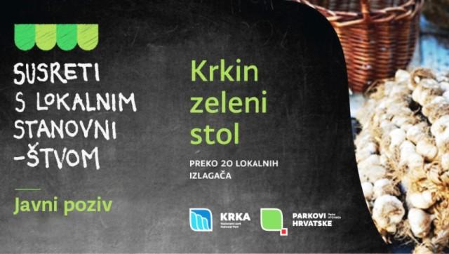NP Krka organizira Krkin zeleni stol