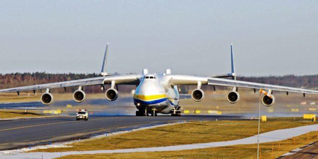 Na Pleso sletio Antonov 124
