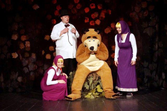 Hit predstava za djecu Maša i medvjed ponovno u Zagrebu