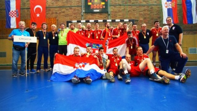 Hrvatska rukometna reprezentacija gluhih prvak Europe